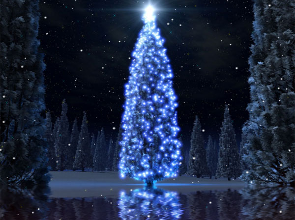 Click to view Christmas Tree Animated Wallpaper 1.0.0 screenshot