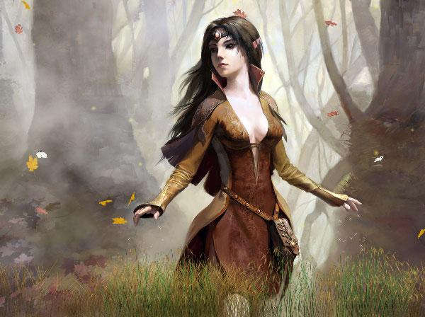 Wooden Elf Animated Wallpaper 1.0.0