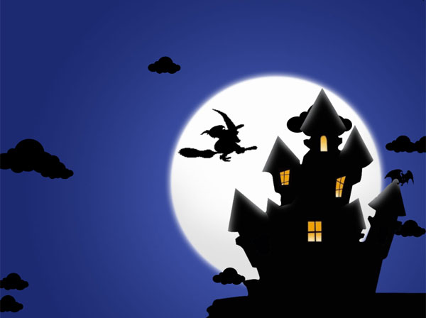Click to view Halloween Night Desktop for Windows 7 1.1.0 screenshot